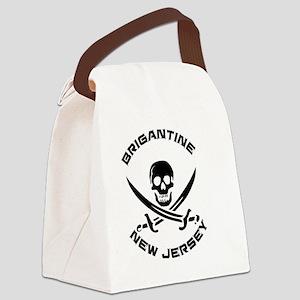 New Jersey - Brigantine Canvas Lunch Bag