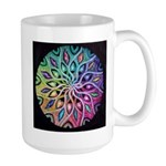 Rainbow Mandala Large Mug