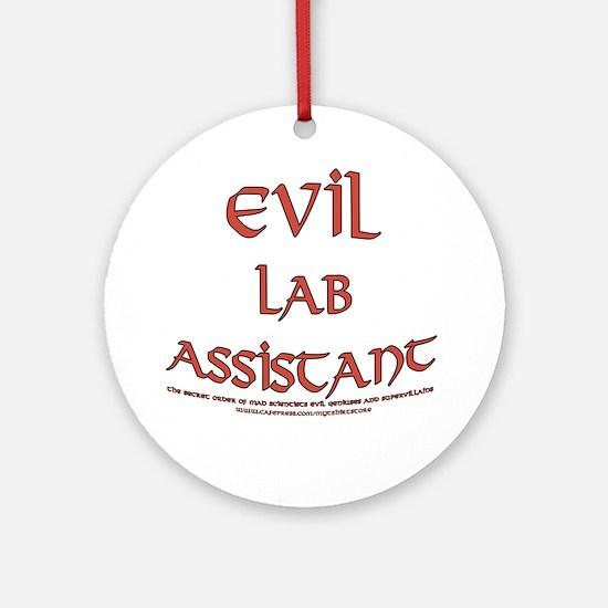 Evil Lab Assistant Ornament (Round)
