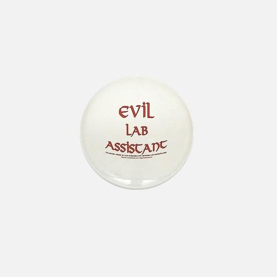 Evil Lab Assistant Mini Button