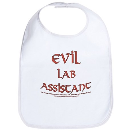 Evil Lab Assistant Bib