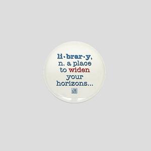 Library Mini Button
