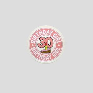 Birthday Girl #30 Mini Button