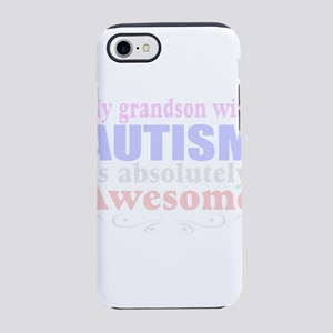 Autism grandson iPhone 8/7 Tough Case