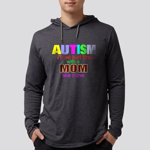 Autism ok with my mom Long Sleeve T-Shirt