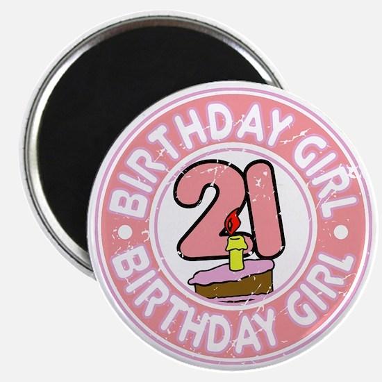 Birthday Girl #21 Magnet
