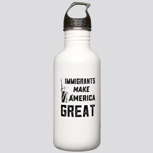Pro Immigrant Rights S Stainless Water Bottle 1.0L
