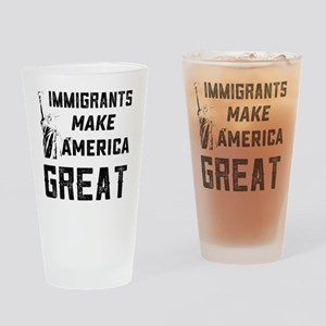 Pro Immigrant Rights Shop Drinking Glass