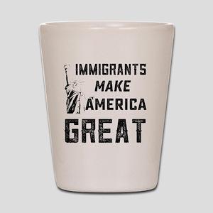 Pro Immigrant Rights Shop Shot Glass