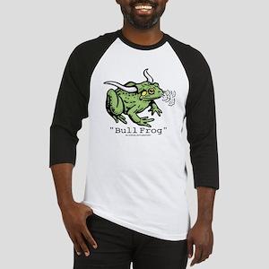 "Funny ""Bull"" Frog Baseball Jersey"