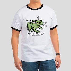 """Funny """"Bull"""" Frog Ringer T"""