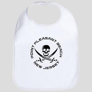 New Jersey - Point Pleasant Beach Baby Bib