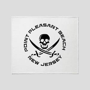 New Jersey - Point Pleasant Beach Throw Blanket