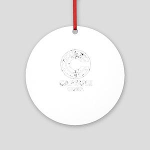 Cool Capsule Corp Shirt – DBZ Shirt Round Ornament