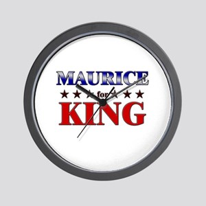 MAURICE for king Wall Clock