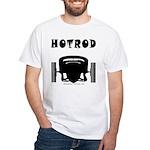 HOTROD FRONT White T-Shirt