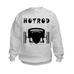 HOTROD FRONT Kids Sweatshirt
