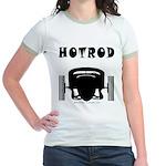 HOTROD FRONT Jr. Ringer T-Shirt