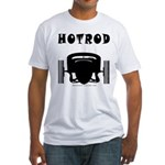 HOTROD FRONT Fitted T-Shirt