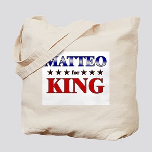 MATTEO for king Tote Bag