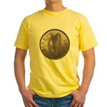 Irish Coin Yellow T-Shirt