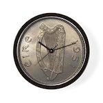 Irish Coin Wall Clock