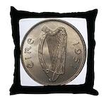 Irish Coin Throw Pillow