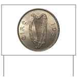 Irish Coin Yard Sign