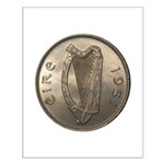 Irish Coin Small Poster