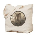 Irish Coin Tote Bag