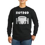HOTROD FRONT Long Sleeve Dark T-Shirt