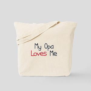 My Opa Loves Me Tote Bag