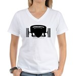 ATCHA Women's V-Neck T-Shirt