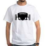 ATCHA White T-Shirt