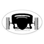ATCHA Oval Sticker