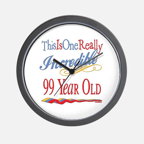 Incredible At 99 Wall Clock