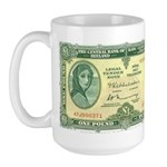 Irish Money Large Mug