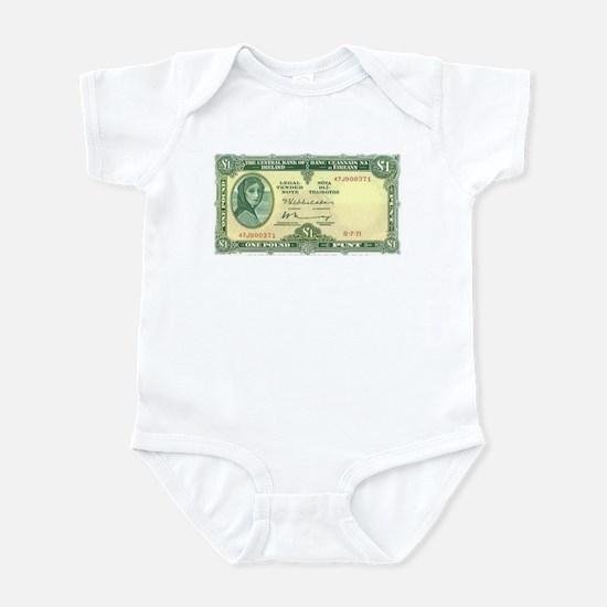 Irish Money Infant Bodysuit