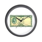 Irish Money Wall Clock