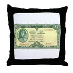 Irish Money Throw Pillow