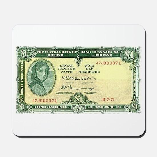 Irish Money Mousepad