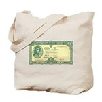 Irish Money Tote Bag