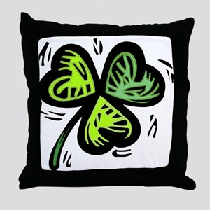 CLOVER_5 Throw Pillow