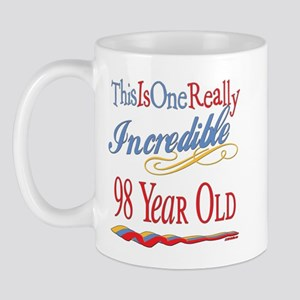 Incredible At 98 Mug