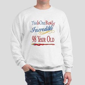 Incredible At 98 Sweatshirt