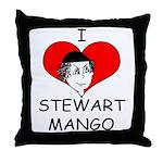 Stewart Mango Throw Pillow