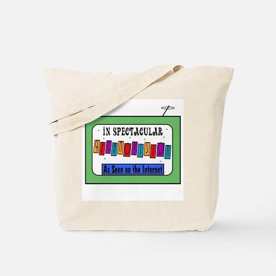 Retro TV Tote Bag