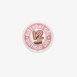 Birthday Girl #12 Mini Button