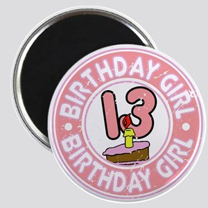 Birthday Girl #13 Magnet