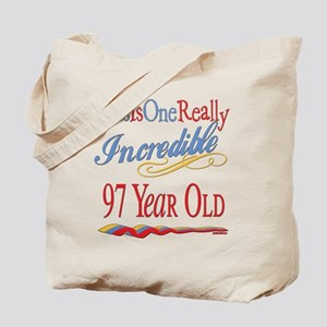 Incredible At 97 Tote Bag